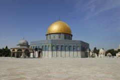 Dome of the Rock. View of the Dome of the Rock from the Temple Mount. Old City Jerusalem, Israel Stock Photo