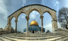 Dome of the Rock. Jerusalem, Israel Stock Photography