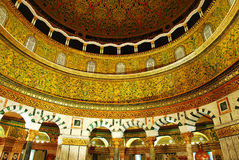 The dome of the rock. Mosque Royalty Free Stock Images
