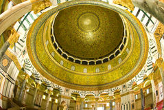 The dome of the rock. Photo of the dome of the rock mosque Royalty Free Stock Photo