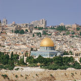 Dome of the Rock. The Old Sity of Jerusalem Royalty Free Stock Photos