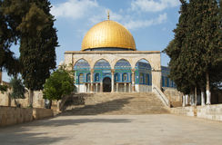 The Dome of The Rock Stock Image