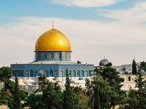 The Dome of the Rock Royalty Free Stock Images