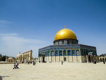 The Dome of the Rock Royalty Free Stock Photos