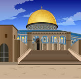 Dome Of  Rock Royalty Free Stock Photo