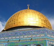 Dome of the Rock Detail. Dome of the Rock, Jerusalem Royalty Free Stock Photography