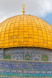 Dome of the Rock detail Stock Photography