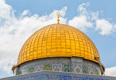 Dome of the Rock detail Stock Image