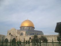 The Dome of the Rock. The Don of the Rock in Jerusalem Stock Images