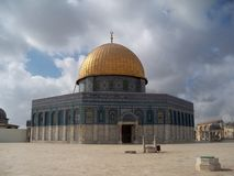 Dome on the Rock Royalty Free Stock Photo