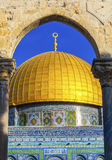 Dome of the Rock Islamic Mosque Temple Mount Jerusalem Israel Stock Images