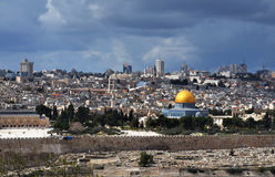 Dome of the Rock in Israel Royalty Free Stock Images