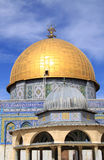 Dome of the Rock.Jerusalem. Dome of the Rock up close - on the Temple Mount (Haram Esh-Sharif) in Jerusalem.Israel Stock Photos