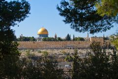 Dome of the Rock in Jerusalem Stock Photos