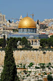 Dome of the rock - Jerusalem Royalty Free Stock Photography