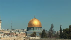 Dome of the Rock stock video footage