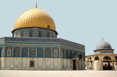 Dome of the Rock in Jerusalem Royalty Free Stock Photography