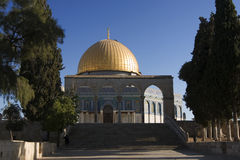 Dome of the Rock in Jerusalem, Israel Royalty Free Stock Photography