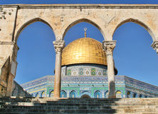 Dome of the Rock. Jerusalem, Israel. Stock Photos