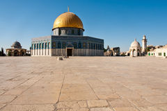 Dome of the Rock in Jerusalem, Israel. Stock Photos