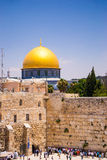 The dome of the Rock Jerusalem Royalty Free Stock Images