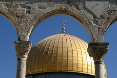 Dome Of The Rock, Jerusalem, Israel Royalty Free Stock Image