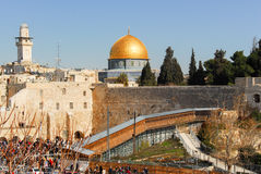 Dome of the Rock in Jerusalem, Israel Royalty Free Stock Images