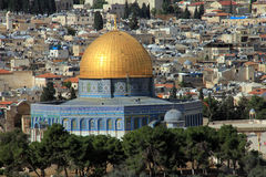 Dome of the Rock.  Jerusalem, Israel Royalty Free Stock Photos