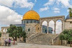 Dome of the Rock Jerusalem Royalty Free Stock Photo