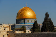 Dome of the Rock in Jerusalem, Israel Royalty Free Stock Photos