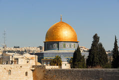 Dome of the Rock in Jerusalem, Israel Stock Images