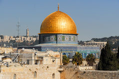 Dome of the Rock in Jerusalem, Israel Royalty Free Stock Image