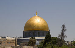 Dome of the rock Jerusalem Royalty Free Stock Photos