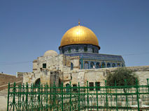 Dome of the Rock in Jerusalem Royalty Free Stock Images