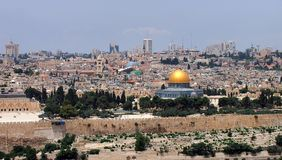 Dome of the Rock, Jerusalem Royalty Free Stock Photography