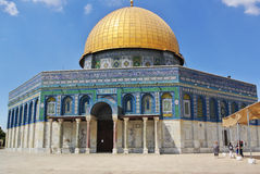 Dome of the Rock Royalty Free Stock Photos