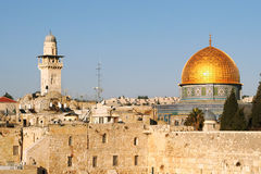 Dome on the Rock mosque. Stock Photos