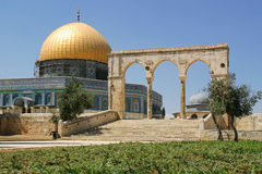Dome on the Rock mosque. Royalty Free Stock Photo