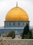 The Dome of the Rock Mosque Stock Photography