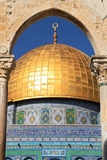 Dome on the Rock Mosque. Royalty Free Stock Photos