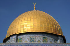 Dome of Rock Mosque in Jerusalem Royalty Free Stock Photo