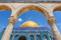 Dome of the Rock Mosque in Jerusalem. Stock Photography