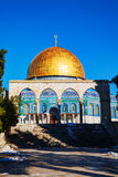 Dome of the Rock mosque in Jerusalem Stock Image