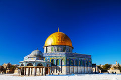 Dome of the Rock mosque in Jerusalem Stock Images