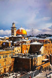 Dome of the Rock mosque in Jerusalem Royalty Free Stock Image