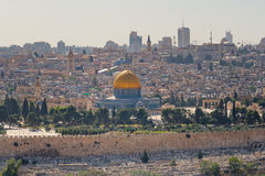 Dome of the Rock Mosque  in Jerusalem Israel Royalty Free Stock Photo