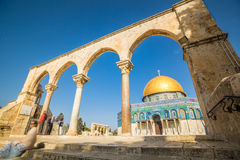 Dome of the Rock mosque in Jerusalem, Israel Royalty Free Stock Photography