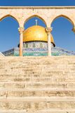 Dome of the Rock mosque in Jerusalem, Israel Royalty Free Stock Image
