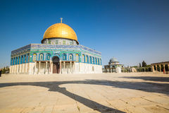 Dome of the Rock mosque in Jerusalem, Israel Royalty Free Stock Photos
