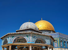 Dome of the Rock mosque in Jerusalem Royalty Free Stock Photo
